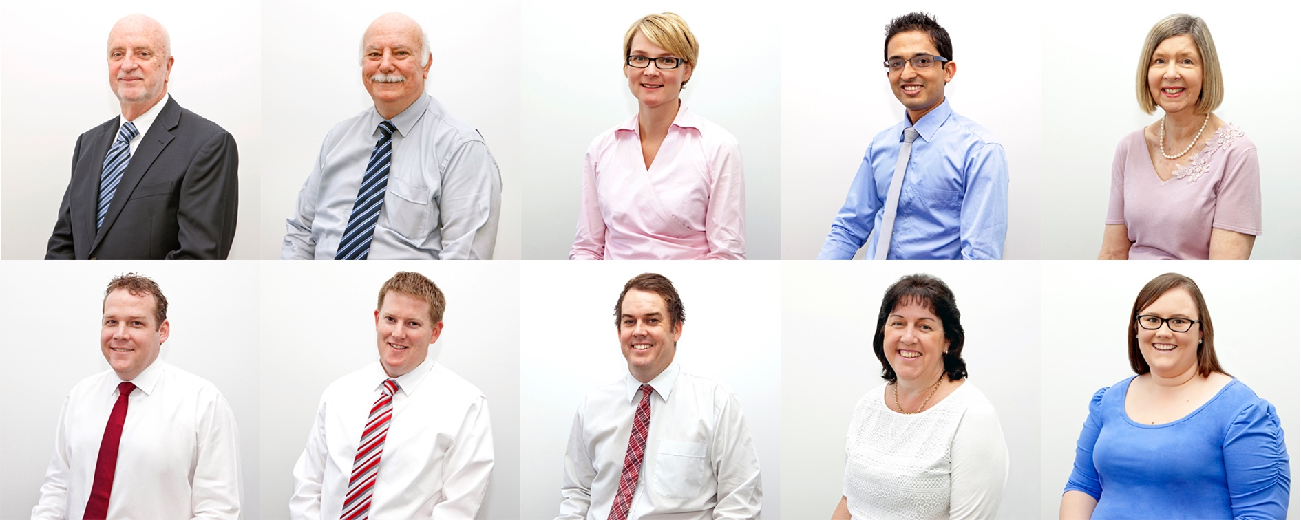 Headshots of the Charts Partners team